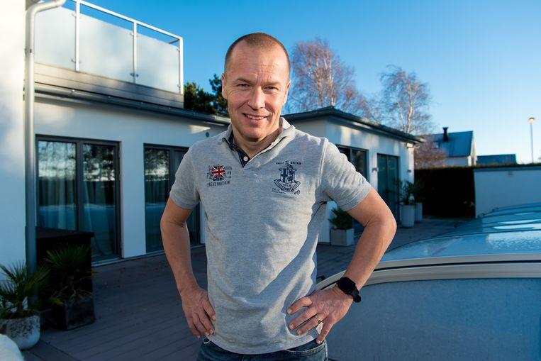 """Zetterberg laat zijn huis in het Zweedse Falkenberg achter voor Anderlecht. """"Want dat is mijn club."""" Beeld Photo News"""