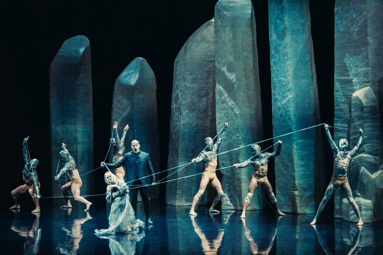 Opera Vlaanderen, 'Pelléas et Mélisande' (Sidi Larbi Cherkaoui, Marina Abramovic) Beeld Rahi Rezvani