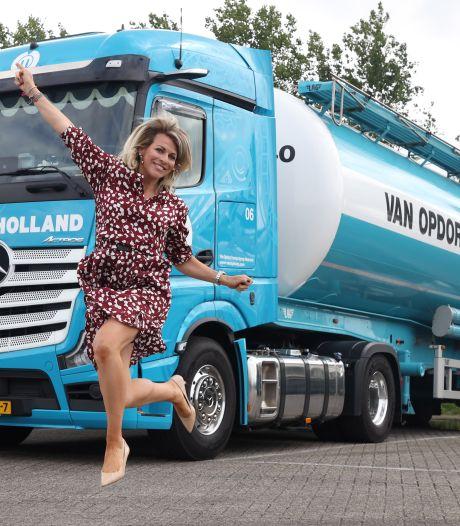 Manon nam op 28-jarige leeftijd het transportbedrijf van haar vader over: 'Er is meer dan werken alleen'