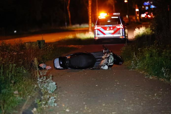 Man zwaargewond na ongeval met snorscooter .