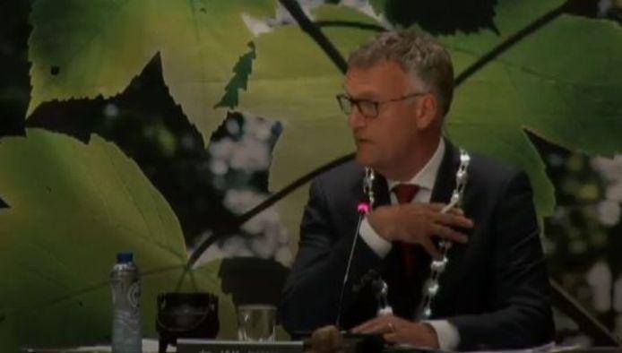 Burgemeester Hans Janssen van Oisterwijk