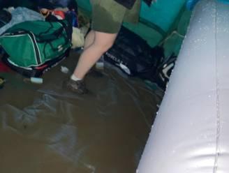 Scouts Hansbeke en KLJ Nevele geraken niet thuis door ondergelopen treinstation, stad Deinze stuurt bussen ter evacuatie