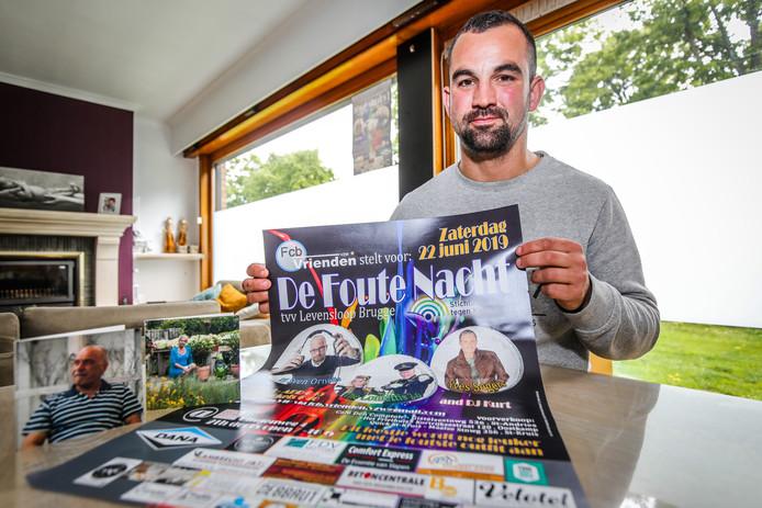 Brugge Mike Vermaut organiseert de foute nacht