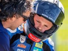 Loris Veneman blijft tijdens TT van Assen in het geweld van druistige coureurs met twee vierde plaatsen knap overeind