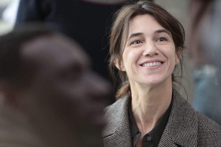 Charlotte Gainsbourg in 'Samba'. Beeld