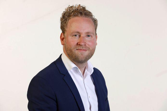 PvdA-raadslid Jasper Konijnenbelt: kan Nijmegen de plaatselijke gedupeerden van de toeslagenaffaire de gemeentelijke schulden kwijt schelden.