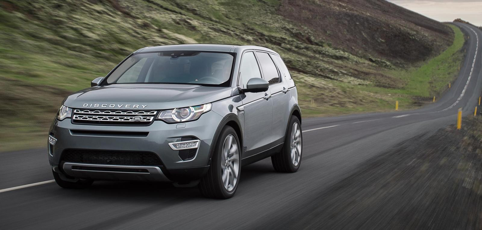 Range Rover Discovery Sport.