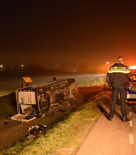 14-jarige joyrider veroorzaakte crash met bestelbus in Lopik