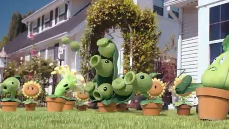 Beeld uit trailer Plants vs. Zombies 2. Beeld YouTube