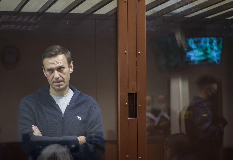 Aleksej Navalny . Beeld EPA