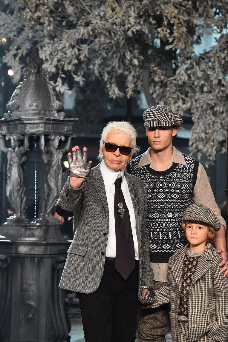 Karl Lagerfeld. Beeld AFP