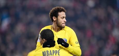 PSG wint uiteindelijk simpel bij Rennes