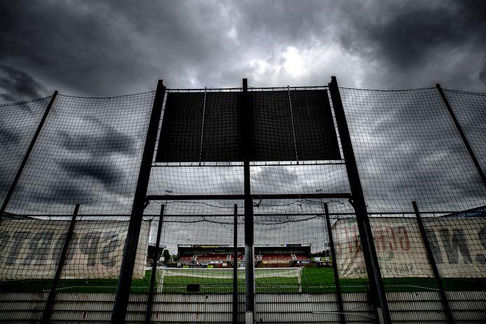 Het stadion van Helmond Sport op De Braak.