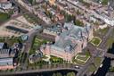 Het anders zo drukke gebied rond het Rijksmuseum en Museumplein was in april grotendeels verlaten.