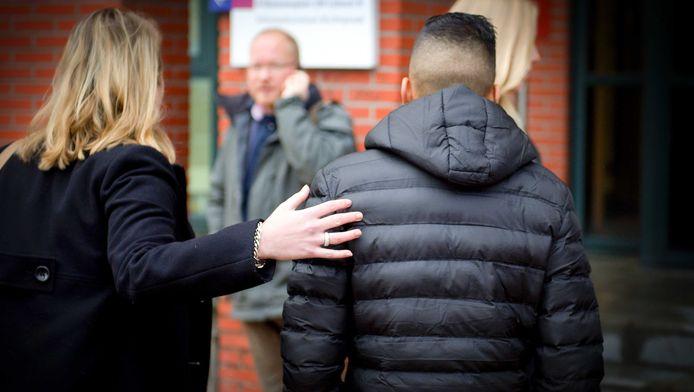 Elf verdachten van de examenfraude op Ibn Ghaldoun moesten afgelopen week voor de rechtbank verschijnen.