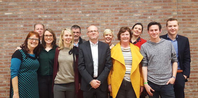 Het nieuwe N-VA-bestuur van de lokale afdeling in Tervuren.