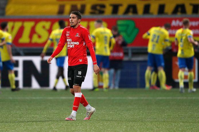 Karim Loukili had de 2-2 op zijn schoen, maar ook hij kon het officieuze promotiefeestje van Cambuur niet verstoren.