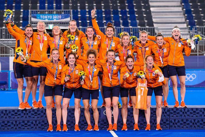 Goud: Nederlandse hockeydames (hockey)