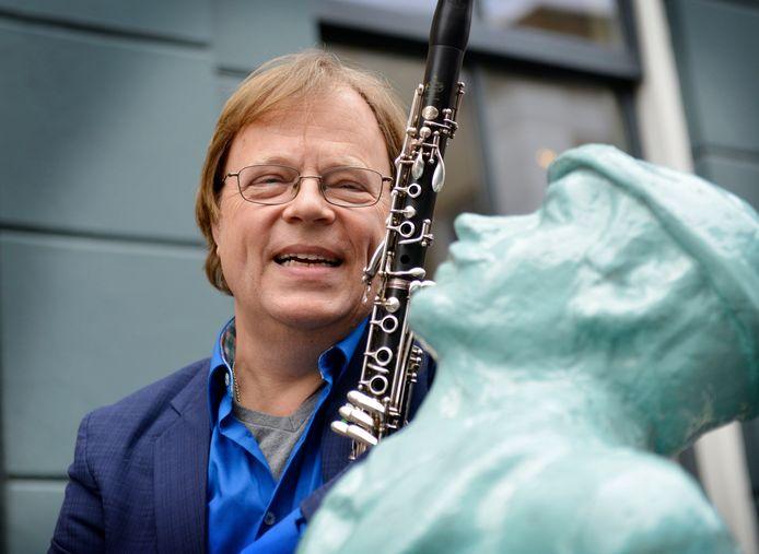 Klarinettist André Kerver neemt afscheid van Orkest van het Oosten.