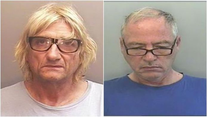 De Britse medeverdachten Nigel C. (64) en Dean W. (60)