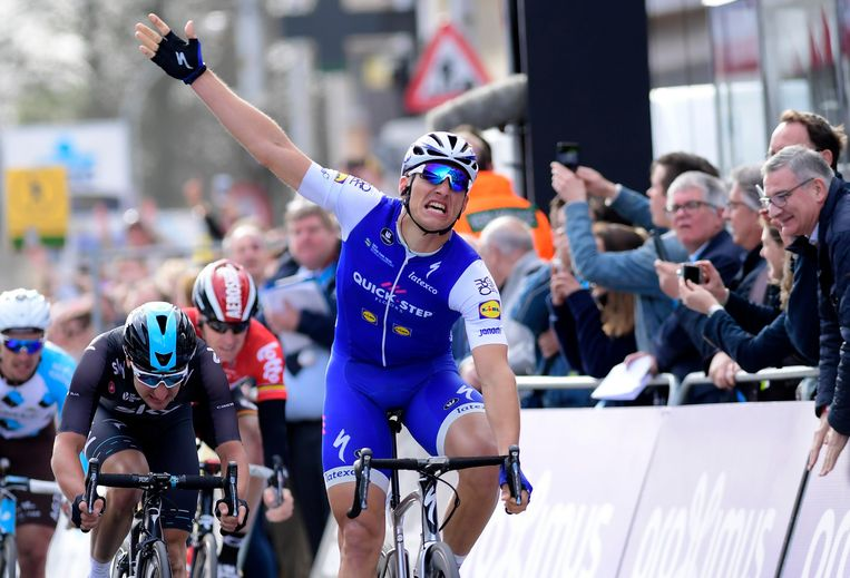 Marcel Kittel won vijf keer in Schoten. Beeld Photo News