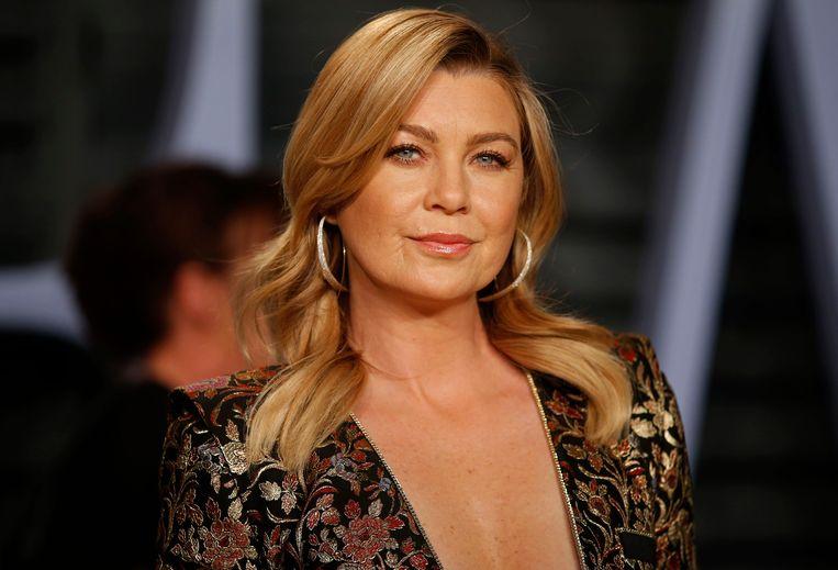 2018 Vanity Fair Oscar Party – Arrivals – Beverly Hills, California, U.S., 04/03/2018 –  Ellen Pompeo. REUTERS/Danny Moloshok