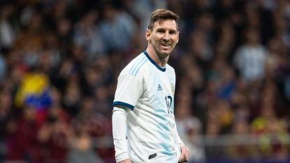 FT buitenland. Afhaken Messi zet kwaad bloed in Marokko - EK-mascotte voorgesteld