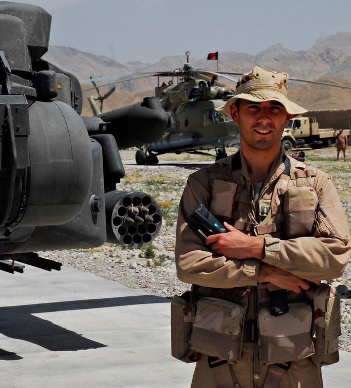 Roy de Ruiter in Afghanistan