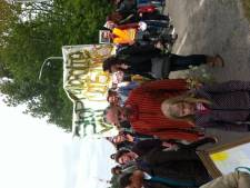 Vreedzaam protest tegen Monsanto in Wageningen