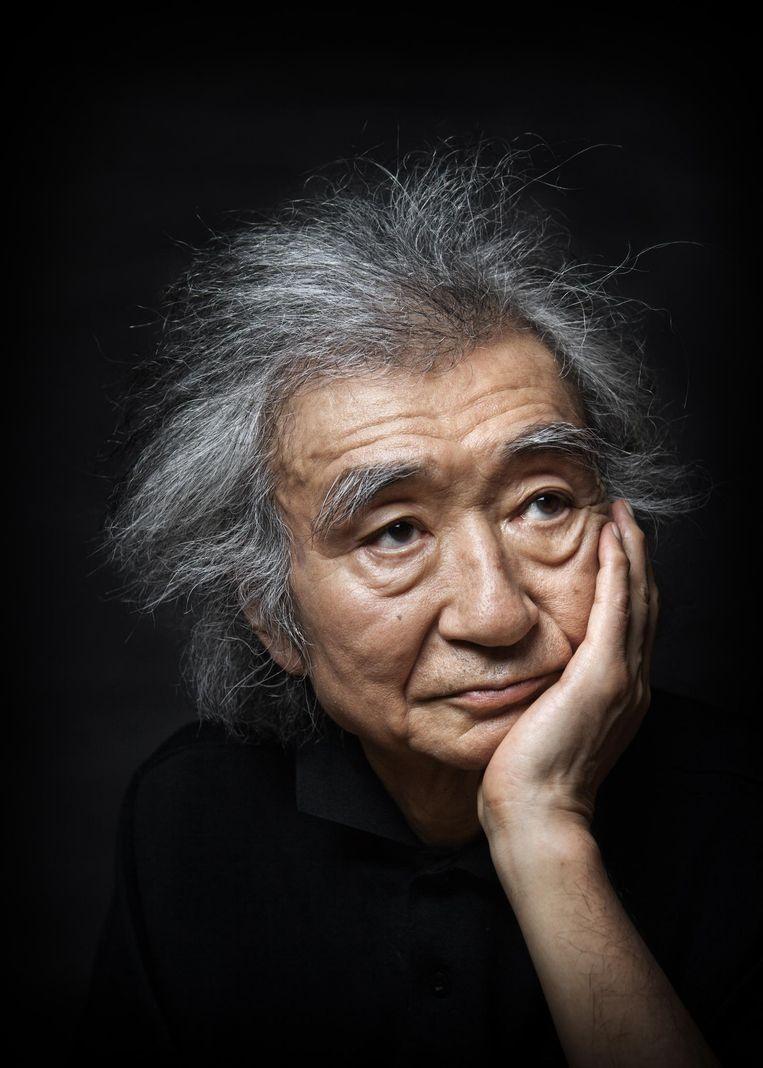 Seiji Ozawa, Japanse dirigent die successen boekte met de Boston Symphony Orchestra en de Wiener Staatsoper. Beeld Ko Sasaki