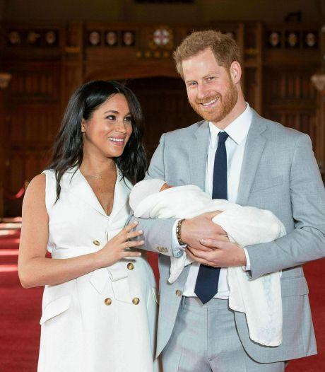 Harry en Meghan ouders geworden van dochtertje Lilibet, koningin Elizabeth 'erg blij'