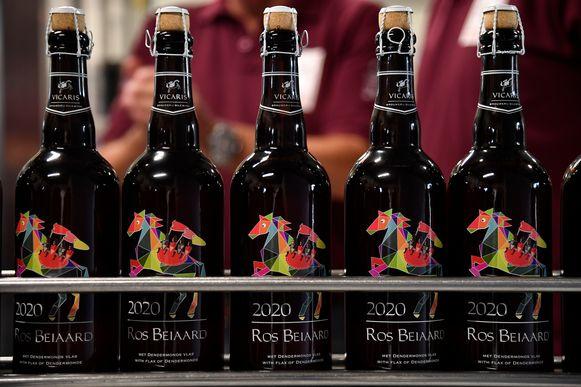 Bij een uniek Ros Beiaardbier hoort ook een bijzonder flesje.