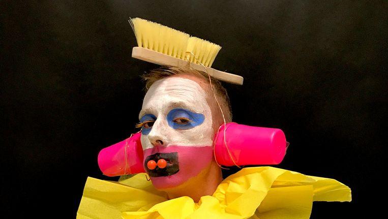 Een foto uit de nieuwe serie ter ere van Leigh Bowery. Beeld Diederik Verbakel
