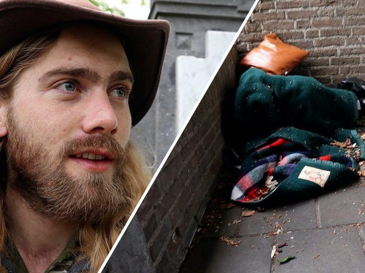 Reinder leefde 5 dagen als zwerver: 'Dacht aan stoppen'