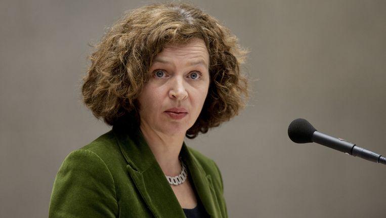 Minister Edith Schippers (Volksgezondheid). Beeld ANP