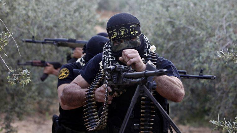 Jihadstrijders. Beeld ap