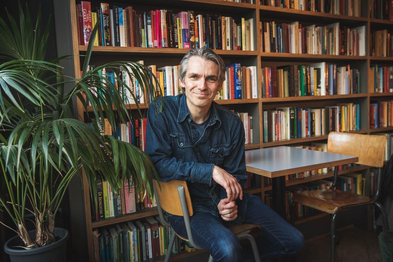 Wim Oosterlinck, de man achter de podcast 'Drie boeken'. Beeld Wannes Nimmegeers