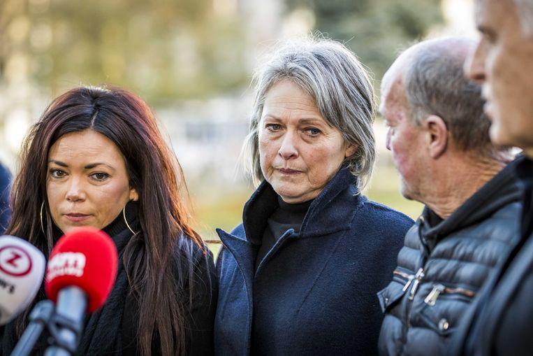 Femke, Berthie en Peetje Verstappen. Beeld ANP