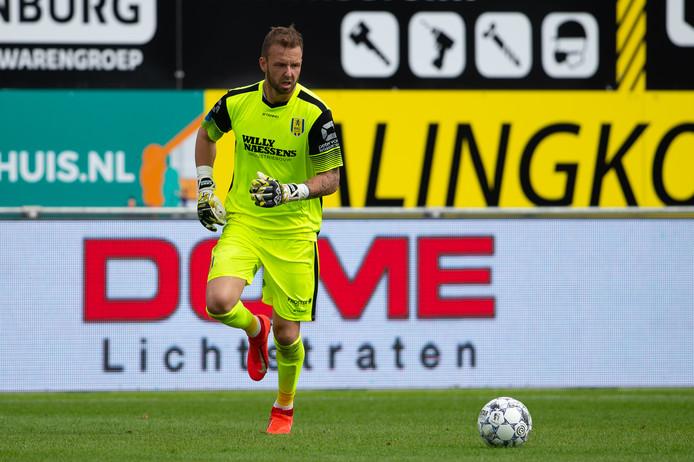 11-08-2019: Voetbal: RKC Waalwijk v AZ: WaalwijkEredivisie 2019-2020l-r goalkeeper Kees Heemskerk of RKC Waalwijk
