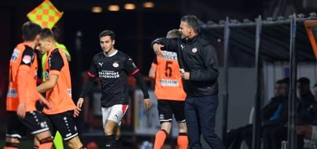 Jong PSV krijgt na rust een opdoffer in Volendam