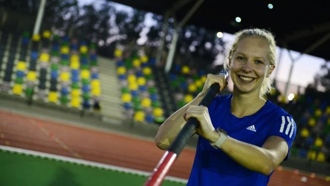 FBK-stadion brengt polsstokhoogspringer Elise Lauret uit Hengelo geluk