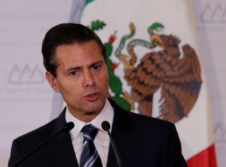 Mexicaans president Enrique Peña Nieto. Beeld REUTERS