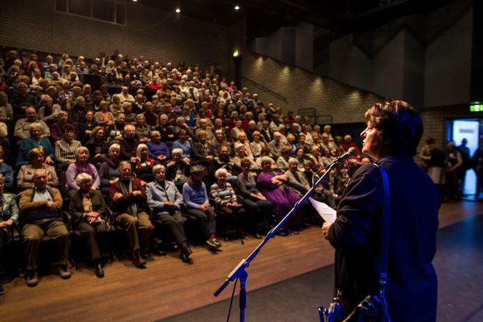 Beeld van de populaire overdag-filmvoorstelling in Nuenen, hier in 2016.