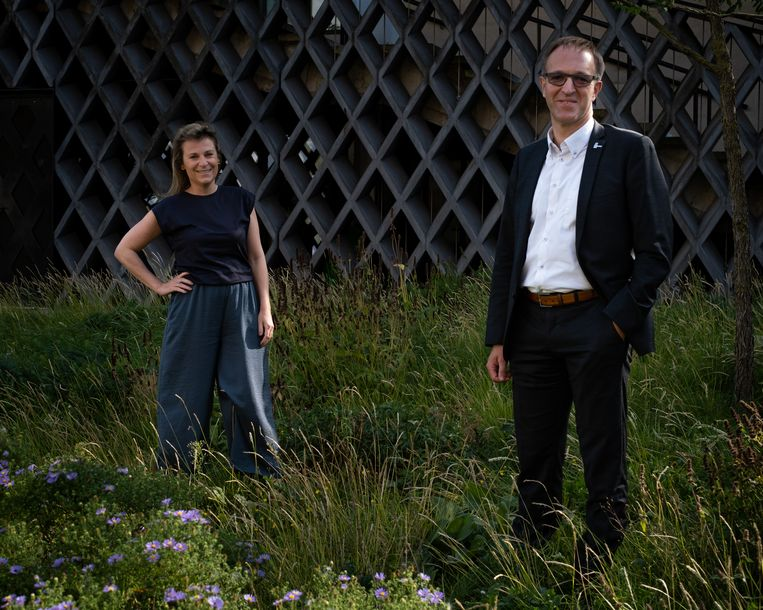 Ann Brusseel en Rik Van de Walle. Beeld Wouter Maeckelberghe