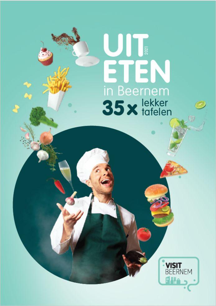 De nieuwe horecagids 'Uit eten in Beernem' is klaar.