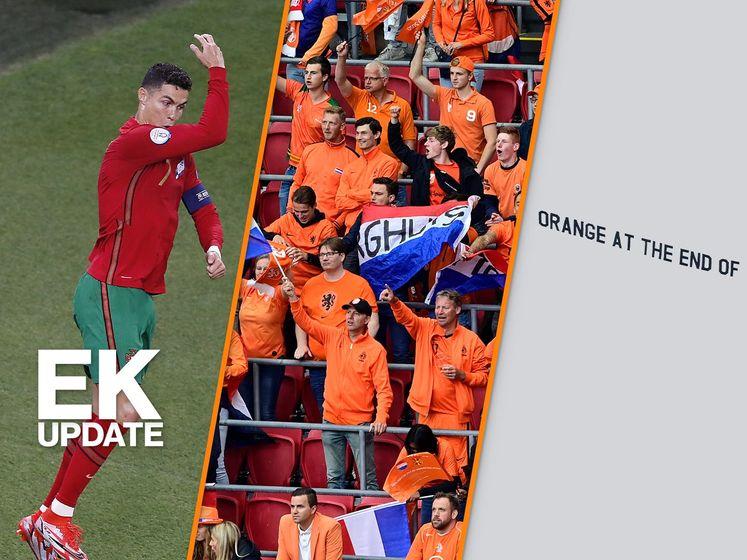 EK-update | Ronaldo evenaart record, Oranjefans massaal naar Boedapest