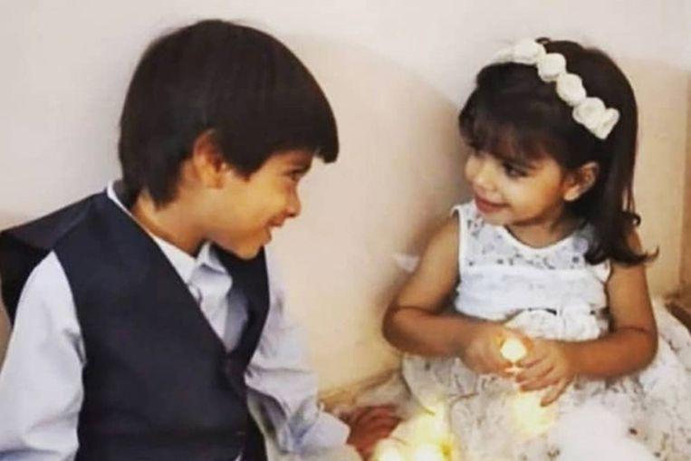 Zeid en Maryam al-Talbani. Beeld NYT