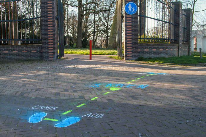 De Prinsentuin in Leeuwarden.