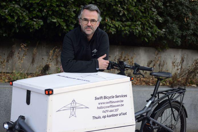 Nieuwe fietshersteldienst in Leuven Willem Delrue