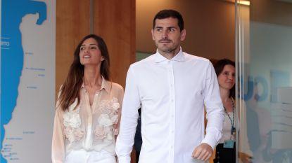 """Echtgenote van Iker Casillas vecht tegen kwaadaardige tumor: """"Helaas verrast het leven ons al opnieuw"""""""